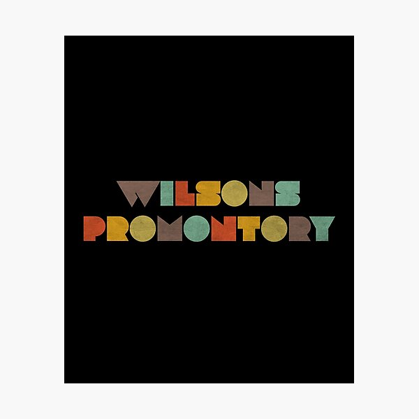 Wilsons Promontory Vintage Photographic Print
