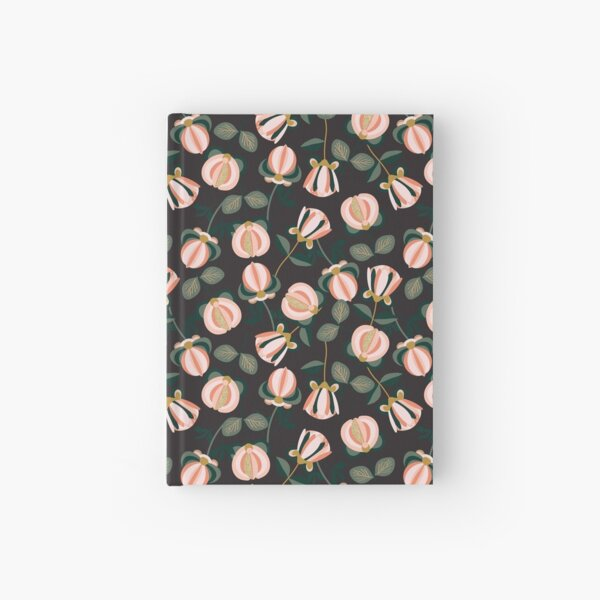 PEONY PERSUASION SCATTER Hardcover Journal