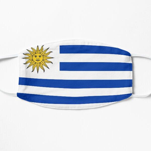 Bandera de uruguay Mascarilla plana