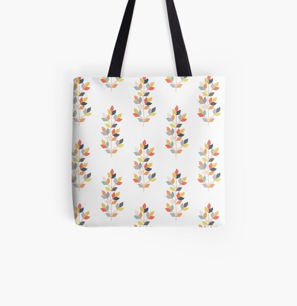 CLIMBING LEAVES All Over Print Tote Bag