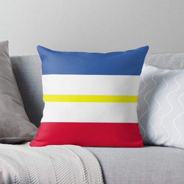 Mecklenburg Vorpommern Flag Throw Pillow