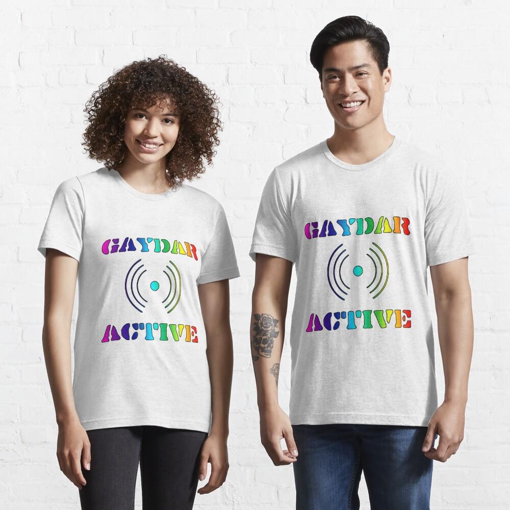 Gaydar Active II LGBTQIA Essential T-Shirt
