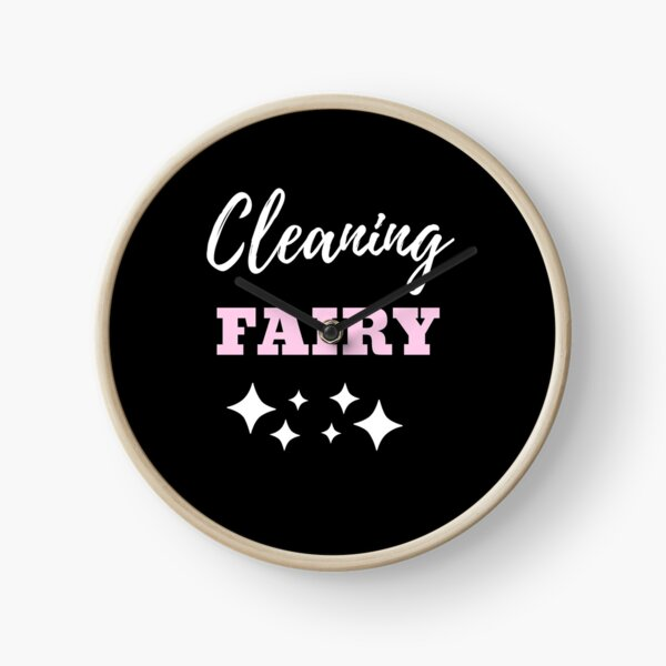 Cleaning Fairy Clock