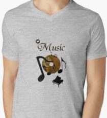 His Masters voice... V-Neck T-Shirt