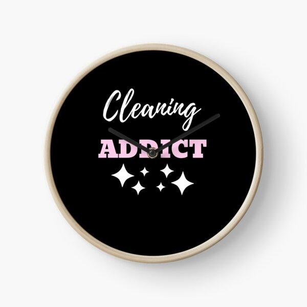Cleaning Addict Clock