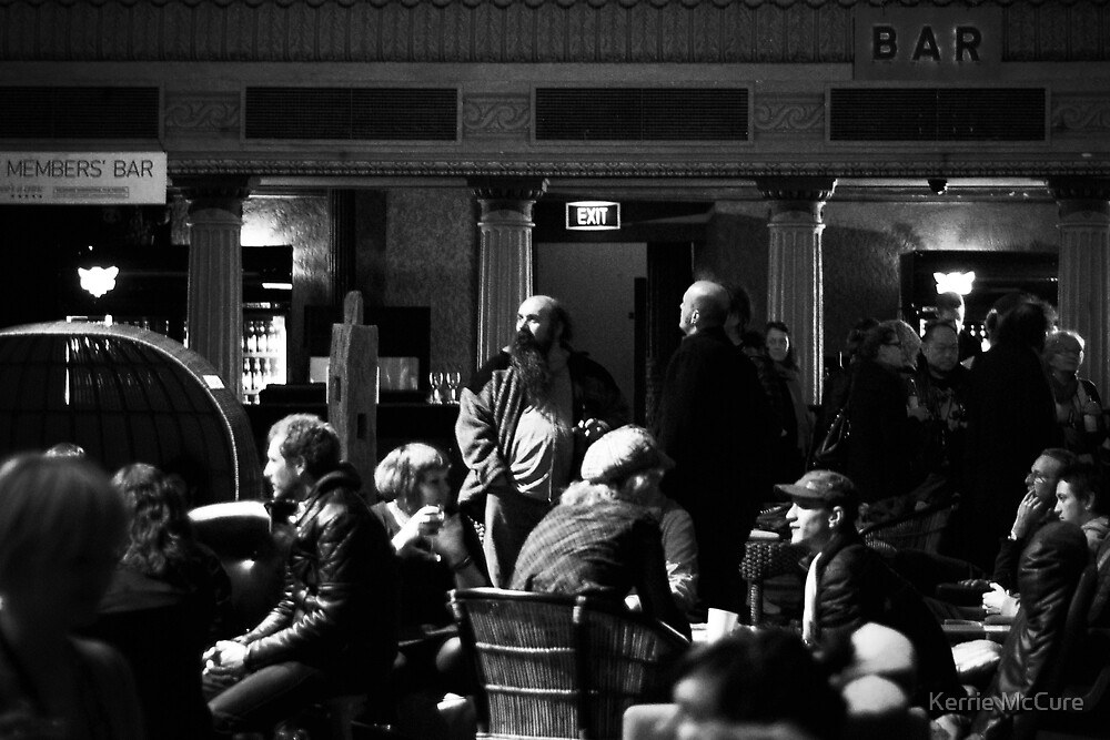 In the bar by Kerrie McCure