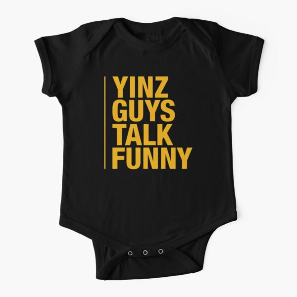 Yinz Guys Short Sleeve Baby One-Piece