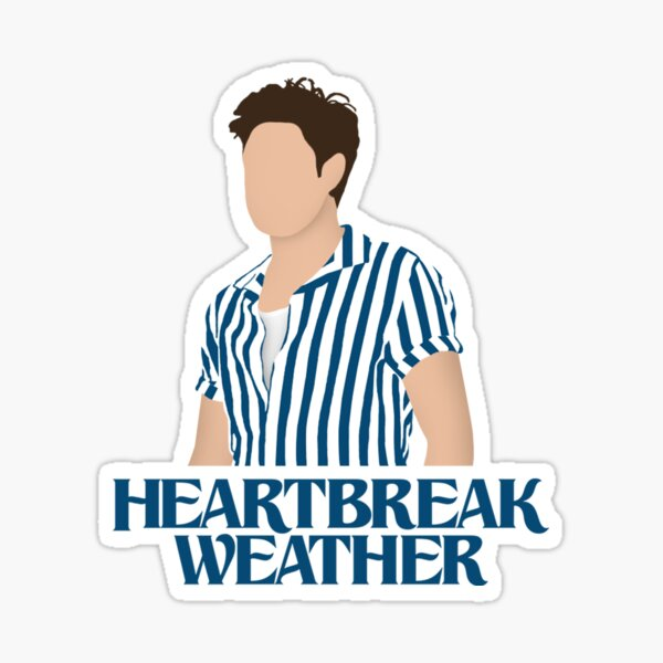 Niall Horan Heartbreak Weather Sticker