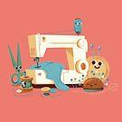 SEWING MACHINE by Manuel Kilger