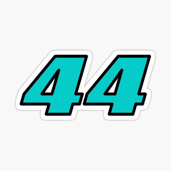 44 Lewis Hamilton F1 Pegatina