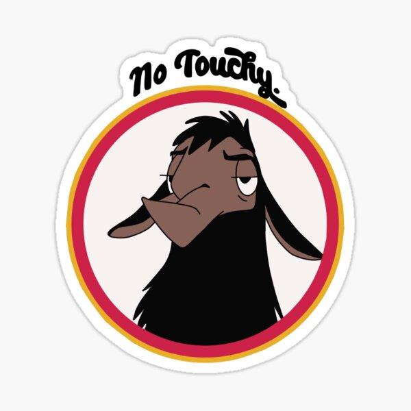 Kuzco pas sensible Sticker