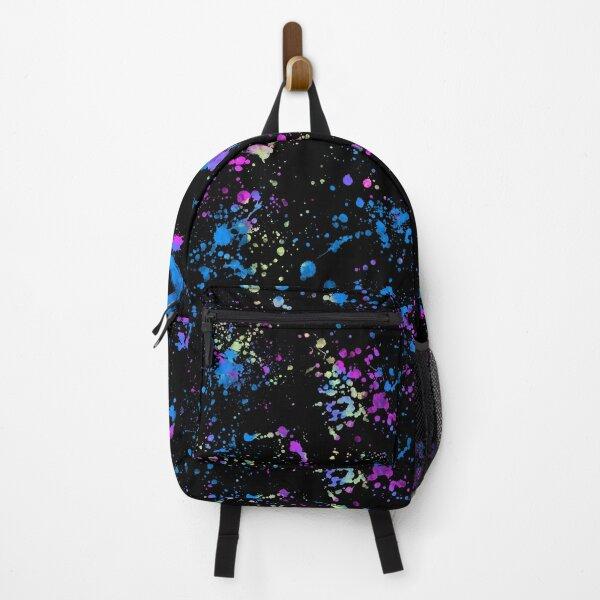 Neon Splatter Backpack