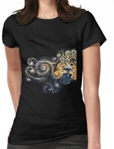Doctor Who Womens Fitted T-Shirt