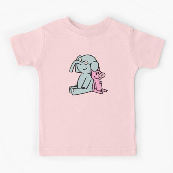 Elephant and Piggie. Gerald and Piggie. Anime transparent sticker, mo willems Kids T-Shirt