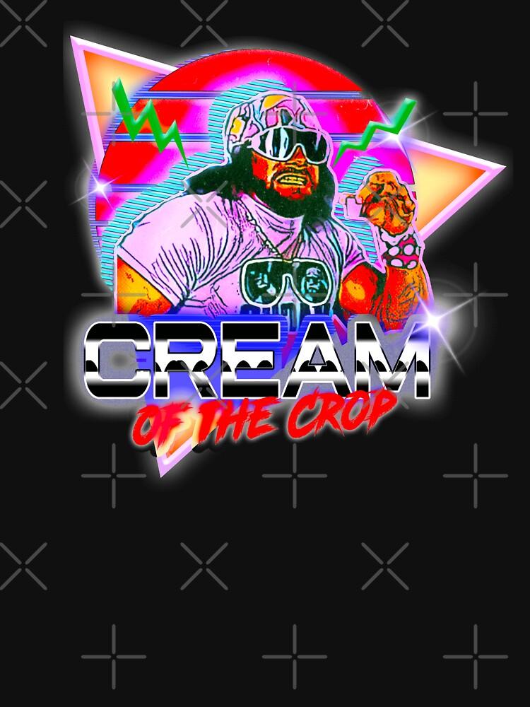 Retro Cream Of The Crop Macho Man by romboshirt