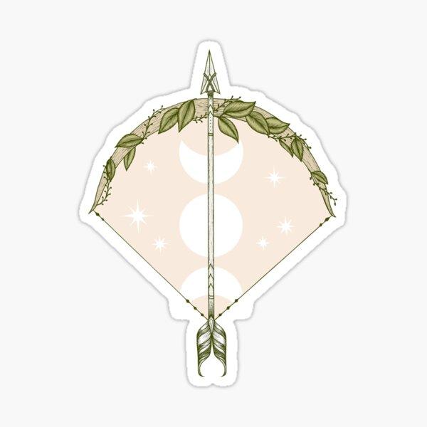 Bow and Arrow Sticker
