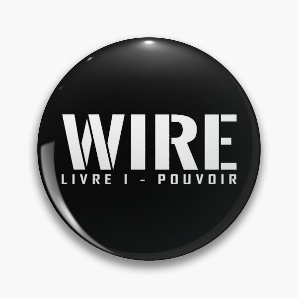 WIRE - Book 1: Power, title Pin