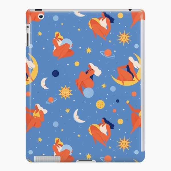Collection of womеn holding planet with dream universe. iPad Snap Case