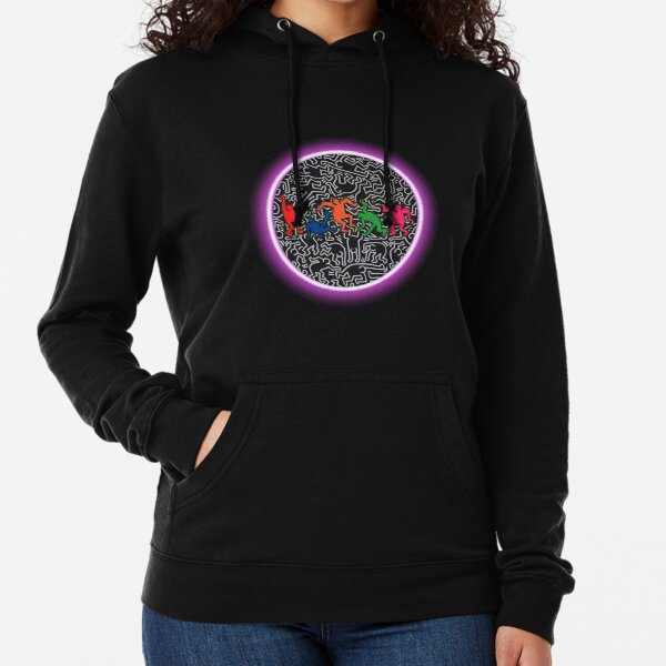 Keith Haring Sudadera ligera con capucha