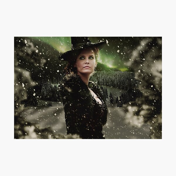 OUAT Holidays 2015 - The Wicked Witch Photographic Print