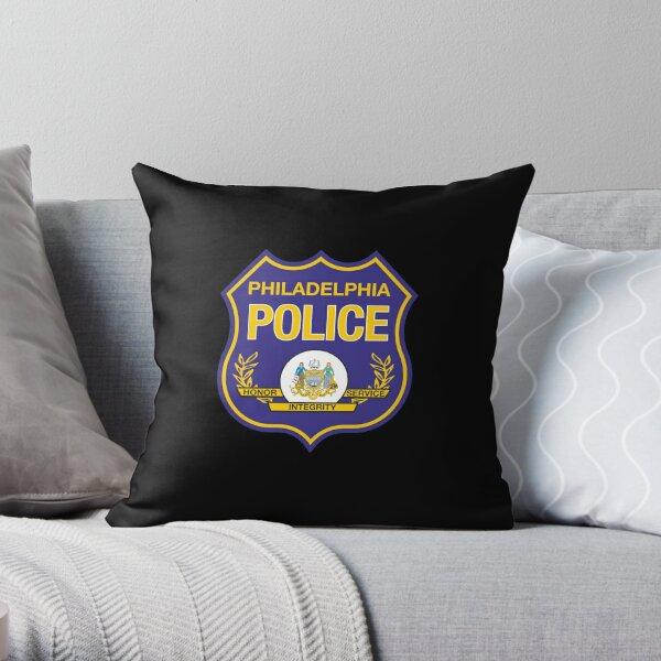 Police Department Philadelphia Throw Pillow