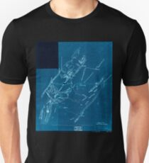Civil War Maps 1846 Topographical sketch of a portion of the North Mountain Range the Valley of Virginia Inverted T-Shirt