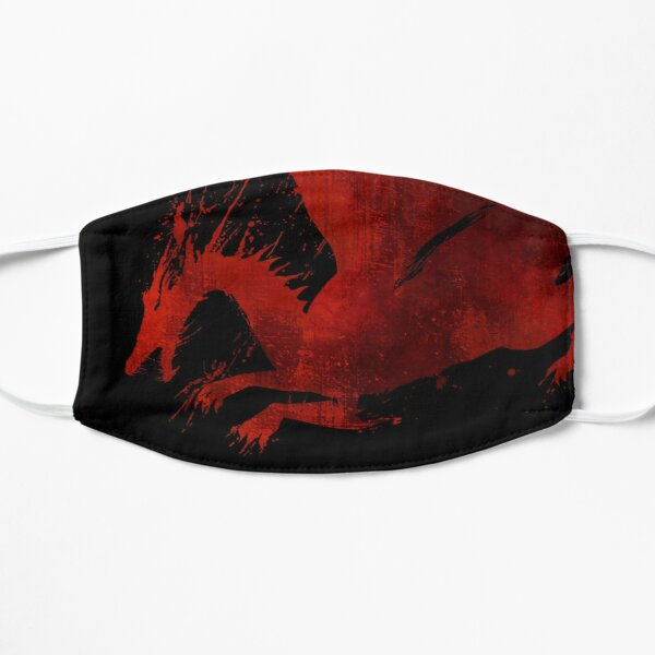 Dragon Age Origins: Blood Dragon (Black BG) Flat Mask