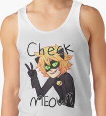 Check Meowt! Cat Noir Tank Top