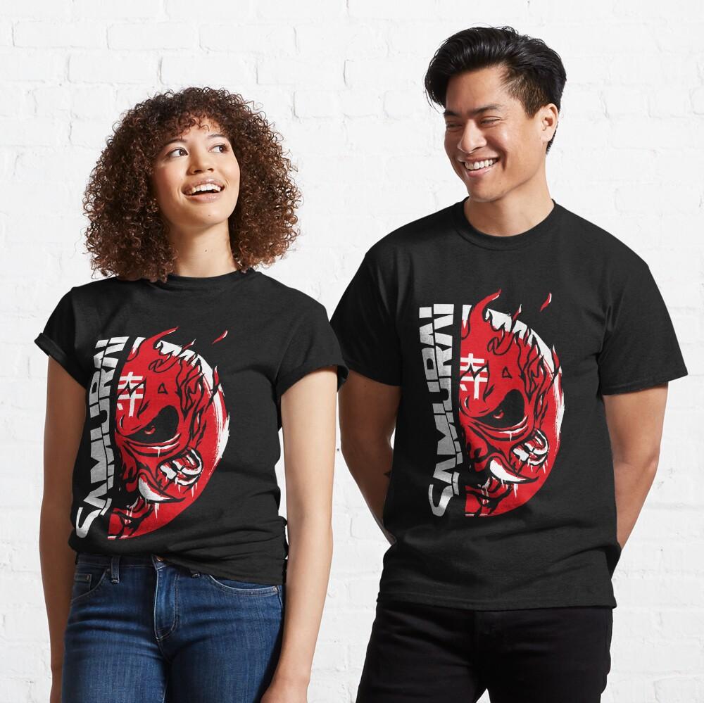 Painted Samurai Classic T-Shirt