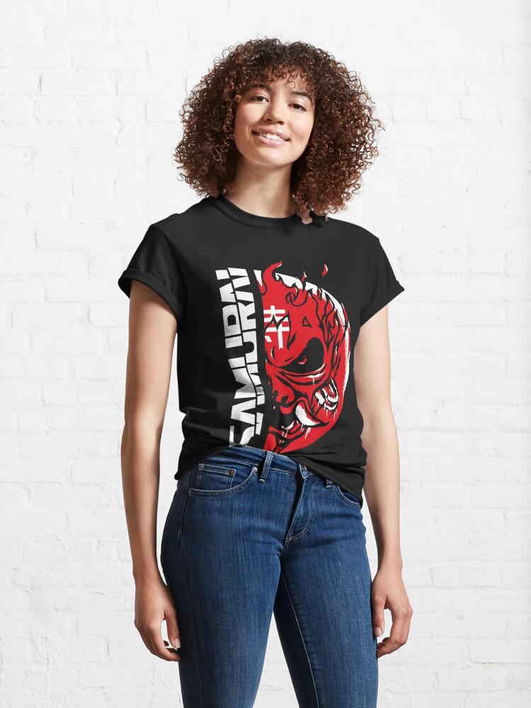 Alternate view of Painted Samurai Classic T-Shirt