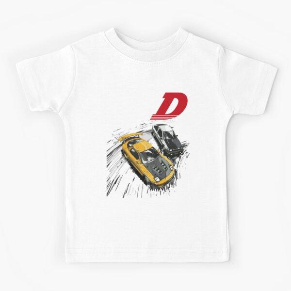 Initial D - Mountain Drift Racing Tandem AE86 vs FD rx-7 Kids T-Shirt