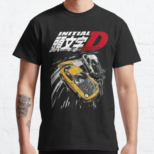 Initial D - Mountain Drift Racing Tandem AE86 contre FD rx-7 T-shirt classique