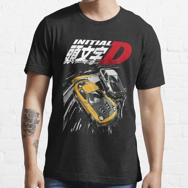 Initial D - Mountain Drift Racing Tandem AE86 vs FD rx-7 Essential T-Shirt