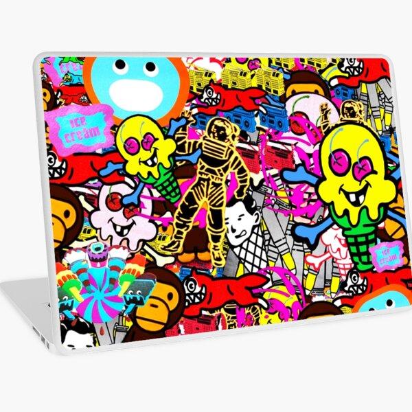 Bathing Ape Collage Laptop Skin