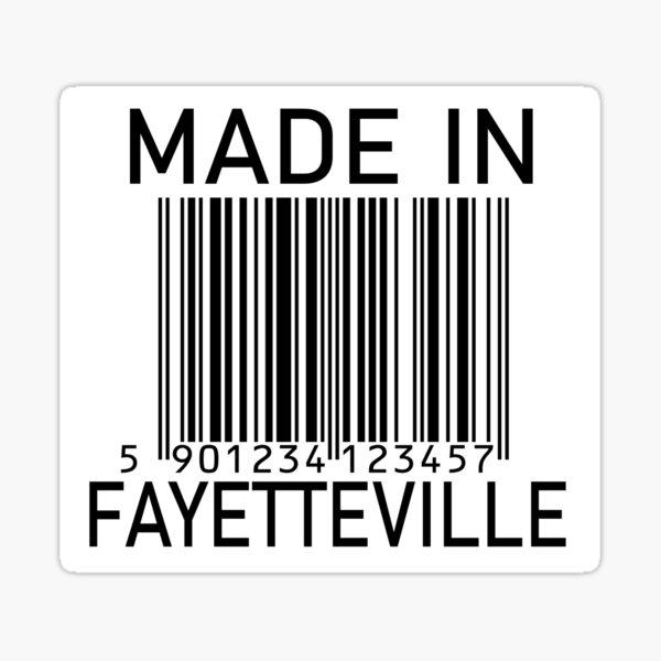 Made In Fayetteville Sticker