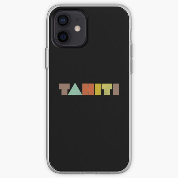 Tahiti Vintage Coque souple iPhone