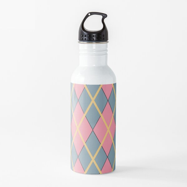 Howl's Argyle- Large Print Water Bottle