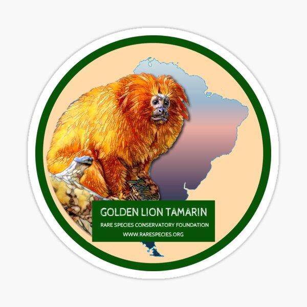 Golden Lion Tamarin Sticker