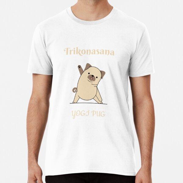 yogi pug Premium T-Shirt