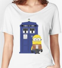 Police Box Minion Women's Relaxed Fit T-Shirt