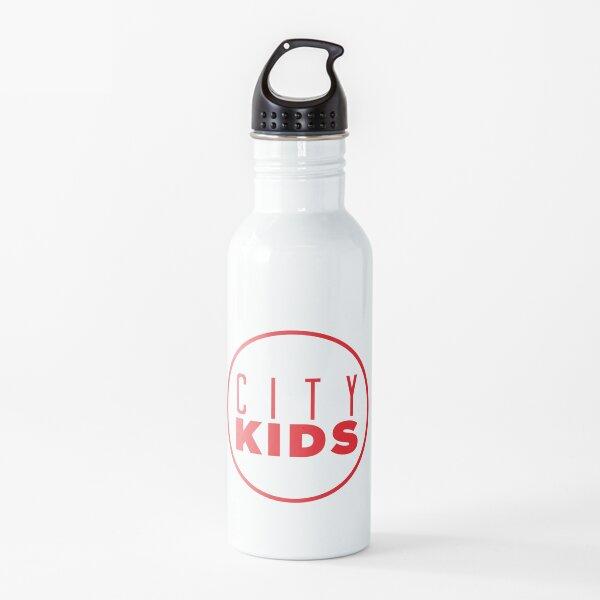 White Mask Water Bottle