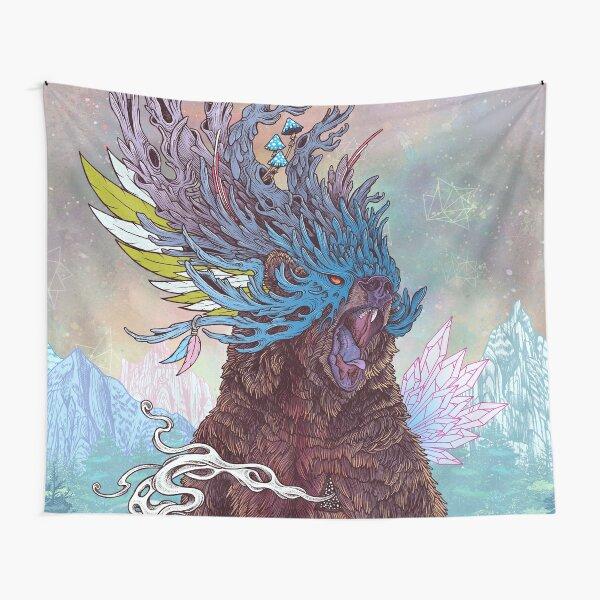 Journeying Spirit (Bear) Tapestry