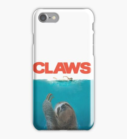 Sloth Claws Parody iPhone Case/Skin