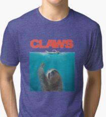 Sloth Claws Parody Tri-blend T-Shirt