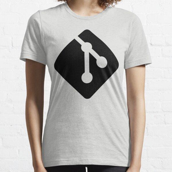 Git - Black logo Essential T-Shirt