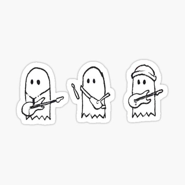 Ghost band - jatp Sticker