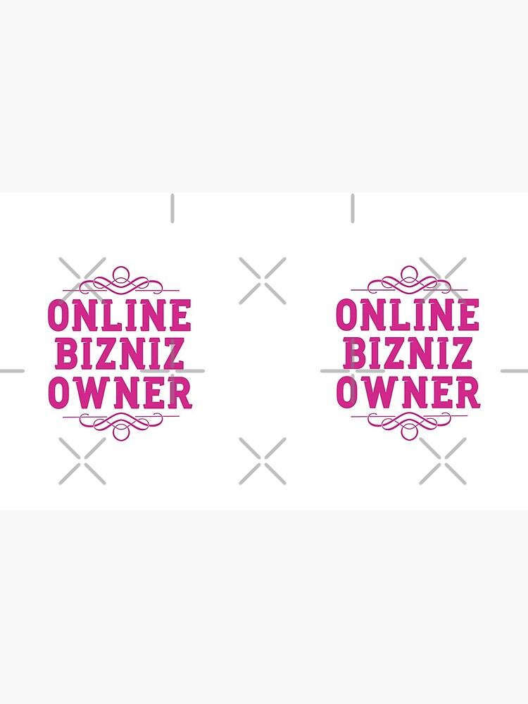 Online Business Owners Pink by Teamworkdream