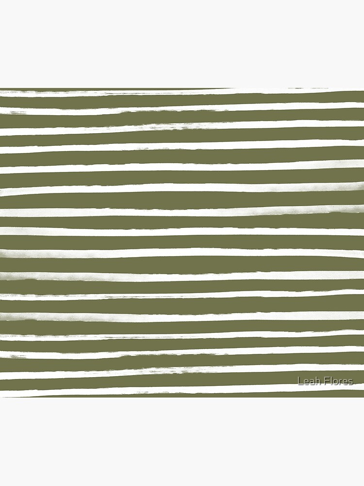 Olive Green x White Stripes by adventurlings