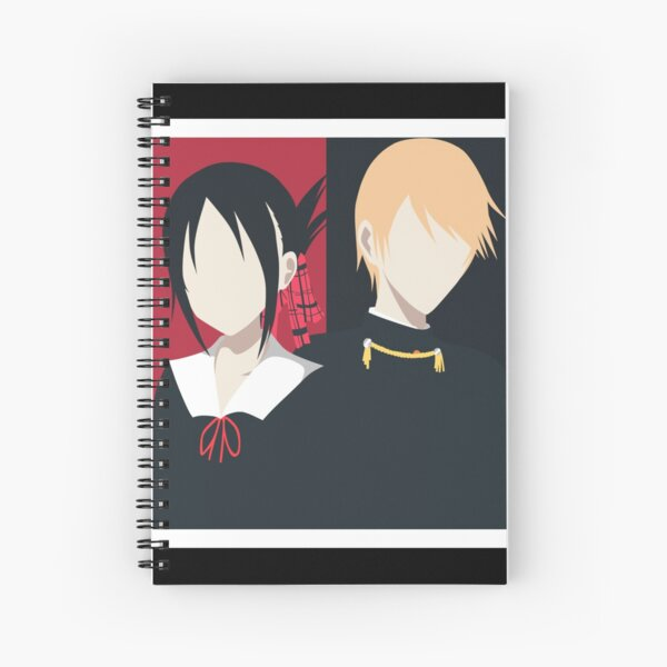 Kaguya-sama Love is War | Minimalist Spiral Notebook
