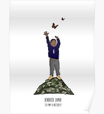 Kendrick Lamar - To Pimp A Butterfly Poster